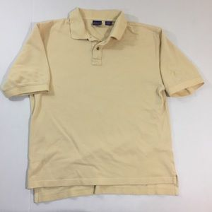 Men's Pendleton Yellow Logo Polo Shirt M